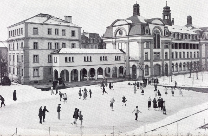 patinoire annees 1956